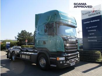 Camion ampliroll Scania R490 LB6x2*4 MNA - MEILLER ABROLLKIPPER