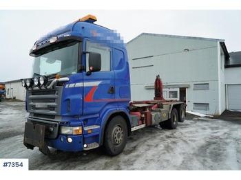 Camion ampliroll Scania R500