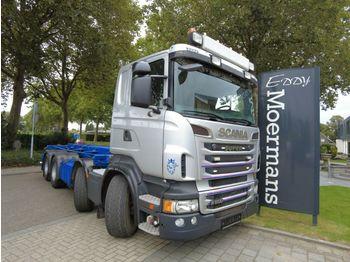 Camion ampliroll Scania R500 8x4  Mit AP Achsen