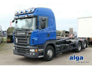 Camion ampliroll Scania R500 LB 6x2, V8-Motor, Meiller RK20.65, Retarder