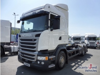 Camion ampliroll Scania R 450 LB6X2*4MNB - Lenk-/Liftachse