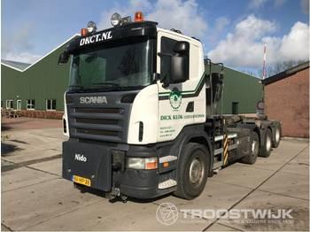 Camion ampliroll Scania R 480 b 8x2/4
