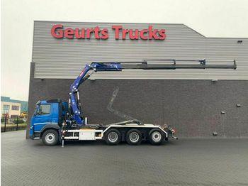 Camion ampliroll Volvo FMX 420 8X4 HAAK + KRAAN/KRAN/CRANE/GRUA