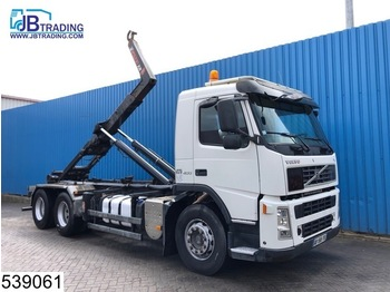 Volvo FM 400 6x2, Hook container system, Manual, Steel suspension, 10 Wheels, Airco, Euro 4 - camion ampliroll