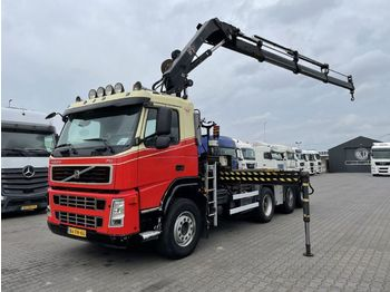 Camion ampliroll Volvo FM 440 8X2 Hiab 211 EP-3 Hidou + NCH Containesystem 30 T
