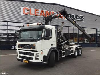 Camion ampliroll Volvo FM 9.340 Hiab 10 ton/meter laadkraan