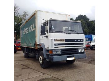 DAF 1900 ATI left hand drive 17.5 ton with tail lift - camion bâche