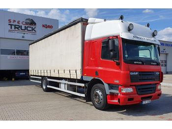 DAF CF 75.310, Steel /Air, Manual, EURO 3, 8.5 meter - camion bâche