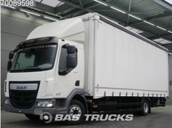 Camion bâche DAF LF45.220 4X2 Ladebordwand Euro 6