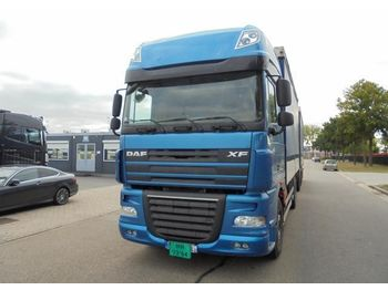 DAF XF 105.510 (RETARDER - EURO 5 - FRIDGE - MANUAL GEARBOX) - camion bâche