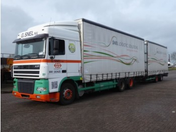 Camion bâche DAF XF 95.380