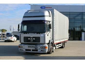 MAN 19.314 FLLC, SLEEPING BODY  - camion bâche