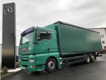 MAN TGA 26.350 Curtainsider Pritsche/Plane + LBW  - camion bâche