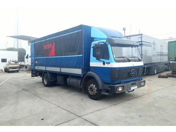 MERCEDES-BENZ 1422 left hand drive 14 ton OM441 V6 engine - camion bâche