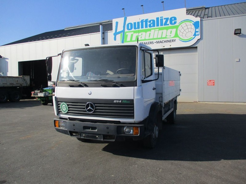 camion bâche Mercedes-Benz 814 - Lames / full steel - TOP CONDITION