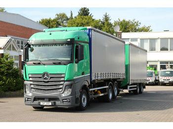 Camion bâche Mercedes-Benz Actros 2542 E6/Retarder/LBW/Plane/kompletter Zug