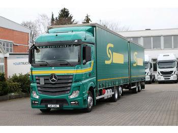 Camion bâche Mercedes-Benz Actros 2545 E6 MP4 /Retarder/Lenkachse/Jumbo ZUG