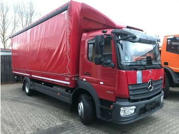 Camion bâche Mercedes-Benz Atego 1224 BL  Pritsche Plane LBW 7100mm