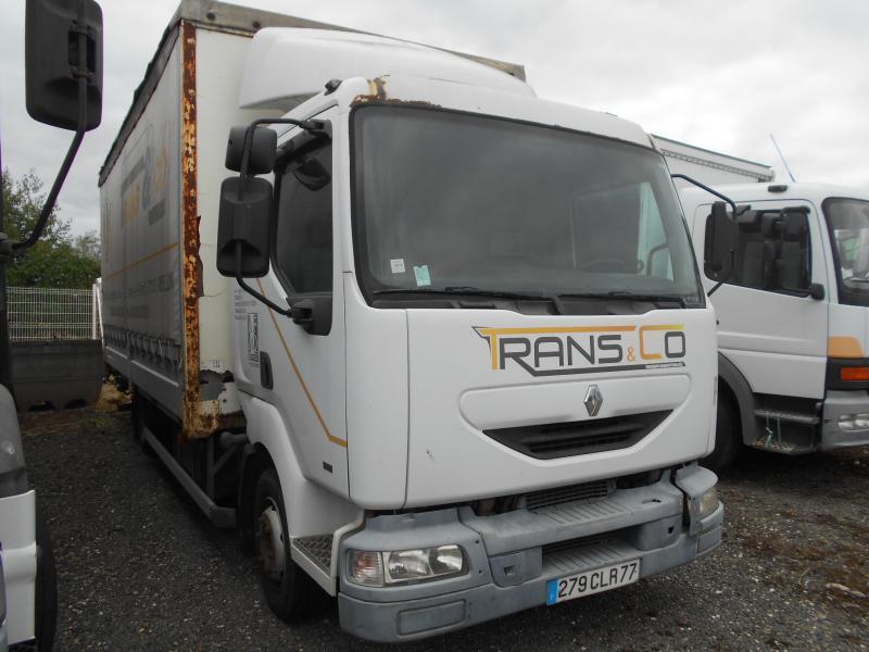 camion bâche Renault Midlum 180
