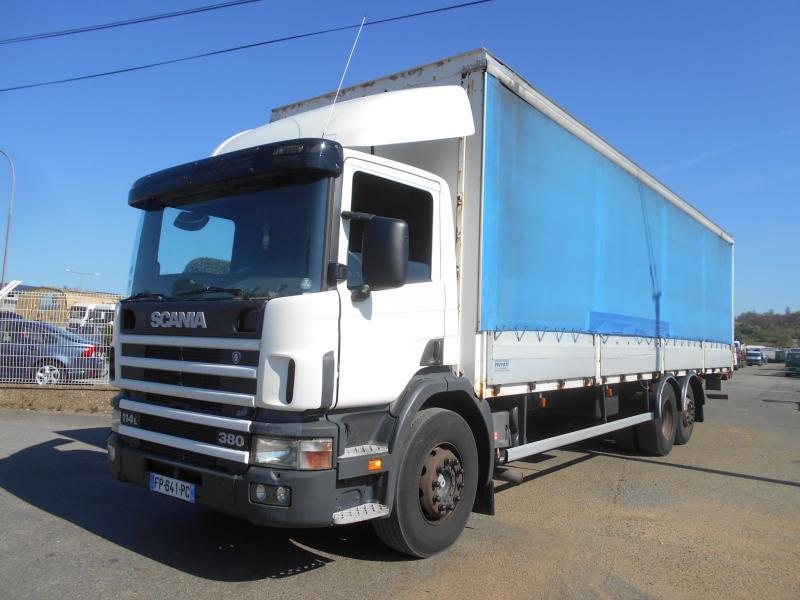 camion bâche Scania 114L 380 380