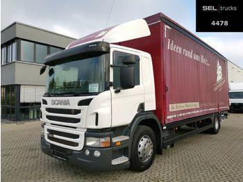 Camion bâche Scania P 280 / Staplerhalterung
