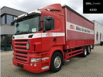 Camion bâche Scania R340 LB6X2*4MNA /Lenkachse /Ladebordw. /Retarder