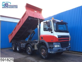 Camion benne DAF 85 CF 430 8x4, Manual, Retarder, Steel suspension