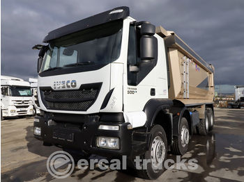 IVECO 2019 TRAKKER 500 /AUTO-AC-8X4- 6X4 BED LARGE CABIN - camion benne