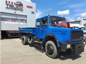 IVECO Magirus 160-230,3xTipper, Full Steel 4x4,V8 engine - camion benne