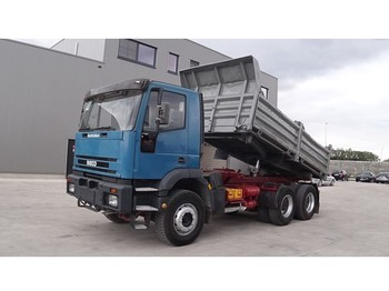 Iveco Eurotrakker 260 E 37 (BIG AXLE / STEEL SUSPENSION / PERFECT) - camion benne