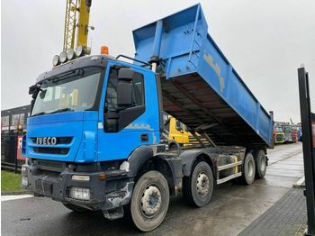 Iveco TRAKKER AD340T450 8X4 EURO 5 + RETARDER - 19,4 M  - camion benne