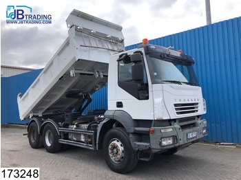 Iveco Trakker 410 6x4, Manual, Steel suspension, Airco, euro 4 - camion benne