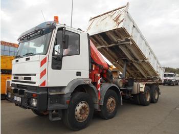 Camion benne Iveco Trakker 440 E 34