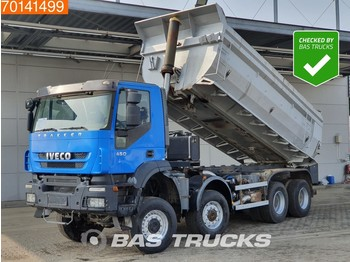 Iveco Trakker AD410T45 8X8 21m3 8x8 Manual Full Steel Suspension Big-Axle Body-Heating - camion benne