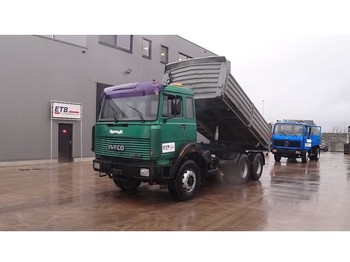 Iveco Turbostar 330 - 30 (BIG AXLE / STEEL SUSPENSION / 6 CYLINER WITH WATER COOLING) - camion benne