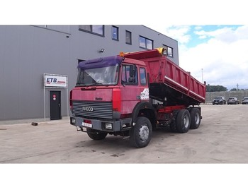 Iveco Turbostar 330 - 36 (BIG AXLE / STEEL SUSPENSION / 6 CYLINDER ENGINE WITH WATER COOLING) - camion benne