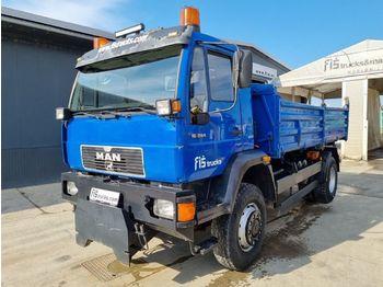Camion benne MAN 18.264 4x4 tipper