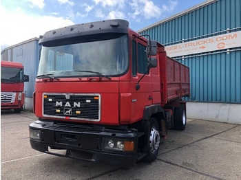 MAN 19.362 FULL STEEL KIPPER (EURO 2 / ZF16 MANUAL GEARBOX / FULL STEEL SUSPENSION) - camion benne
