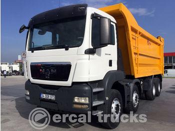 Camion benne MAN 2016 TGS 41.400 / MANUEL - AC - 8X4 - EURO 5