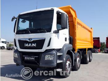 Camion benne MAN 2018 TGS 41.420 AUTO AC 8X4 HARDOX TIPPER