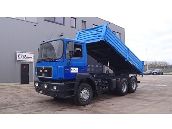 Camion benne MAN 26.403 (FULL STEEL SUSPENSION / 6X4 / 10 TIRES / EURO2)