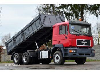 Camion benne MAN 27.463 6x4 1996 BIG BODY TIPPER