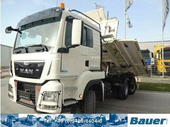 Camion benne MAN 28.480 6x4-4 Lenkachse/Bordmatik/Retarder/144Tkm