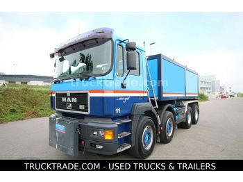 MAN 32.463VF 8x4 Thermokipper  - camion benne