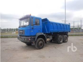 Camion benne MAN 33.414 DFAK 6x6