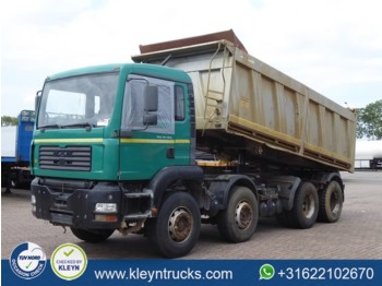 Camion benne MAN 35.360 8x4 manual steel