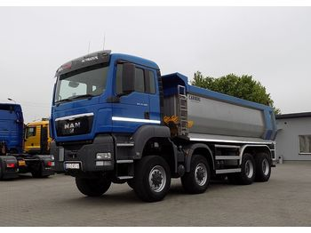 Camion benne MAN 35.400 TGS 8X6