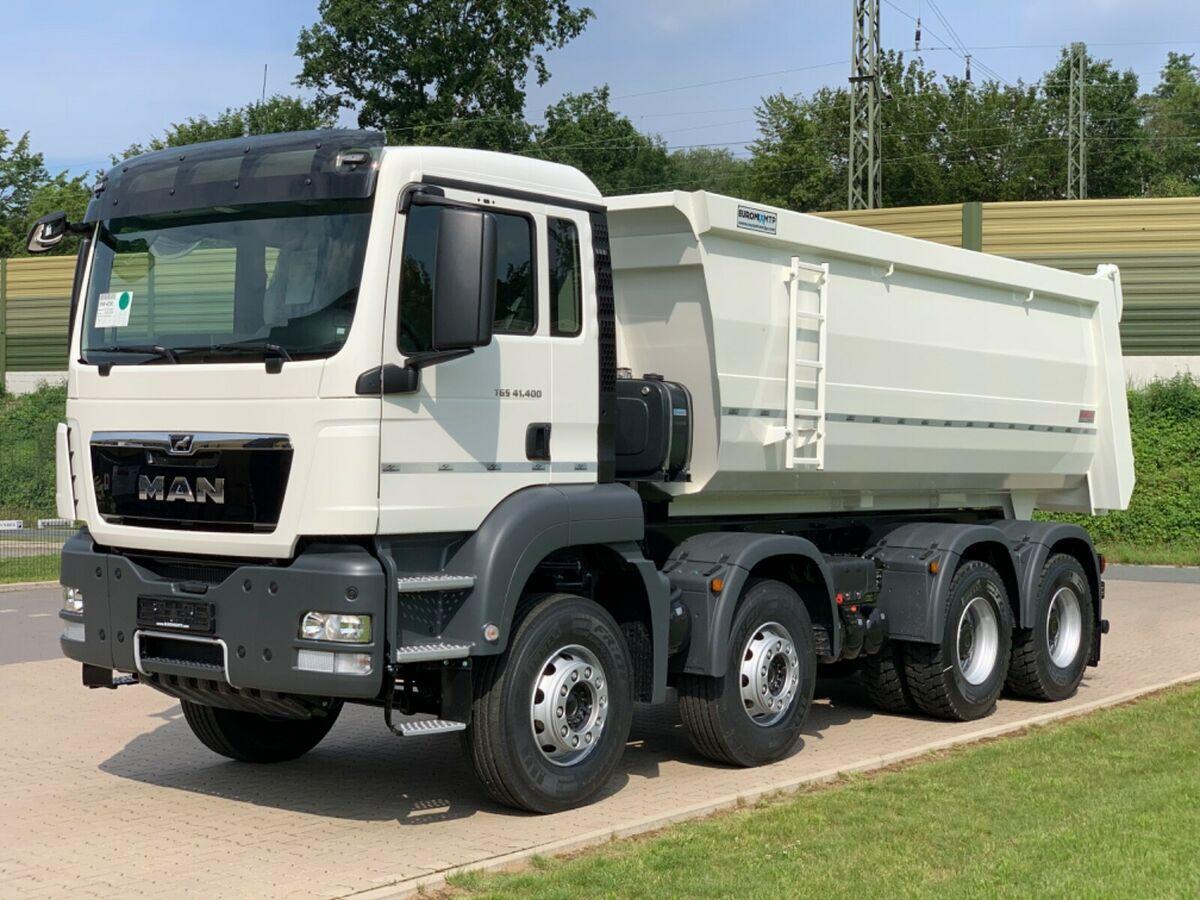 camion benne MAN 41.400 8x4 / MuldenKipper EUROMIX  20m³/ EURO 5