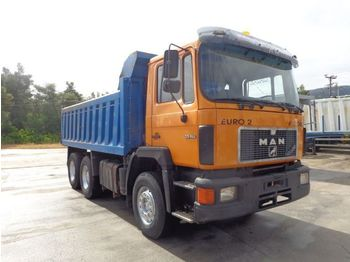 Camion benne MAN MAN 33.462 (6X4) KIPPER -RETARDER !