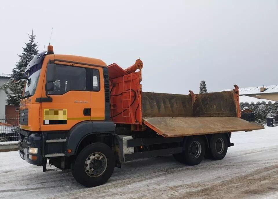 camion benne MAN TGA 26.350
